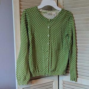 Lands End cardigan sweater